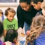 school age classroom science experiment