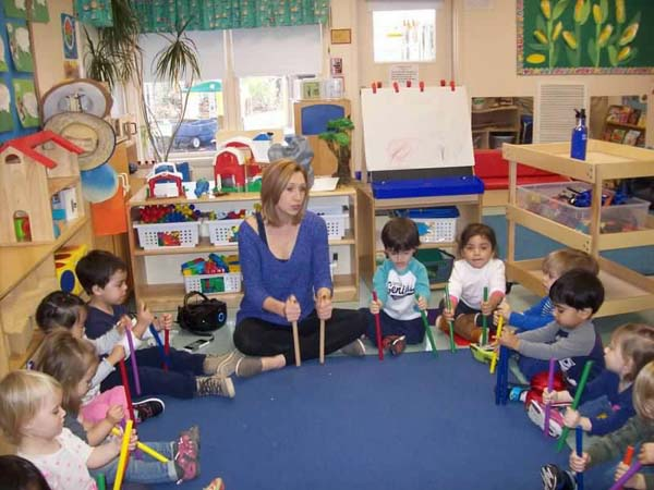 music class with twos