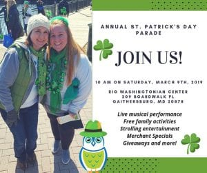 St. Patrick's Day Parade Apple Ridge March 9th 2019