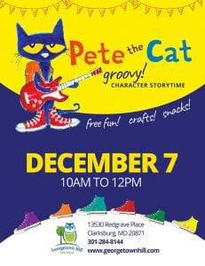 Pete the Cat CHaracter Story Time