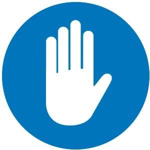 blue hand 2