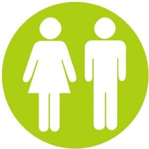 green man women