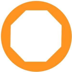orange stopsign