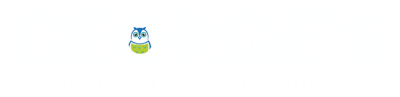 george's virtual learning library logo