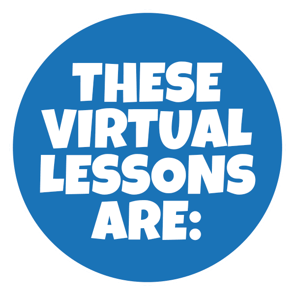 these virtual lessons are2